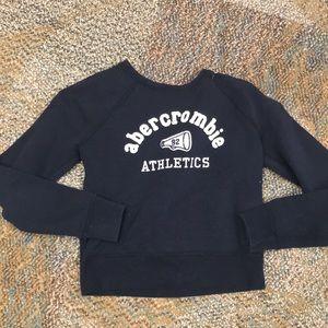 Girls vintage style Abercrombie sweatshirt, small
